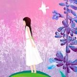紫藤花开贝精灵