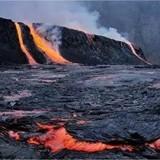 火山口的温度_