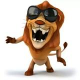 一只温柔狮子